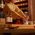 熱燗の魅力は奥が深い・・。お料理、お酒にあわせて様々な温度帯で日本酒をたのしむことができます。