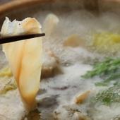1度で何度も美味しい『フグちり鍋(しゃぶしゃぶ)』