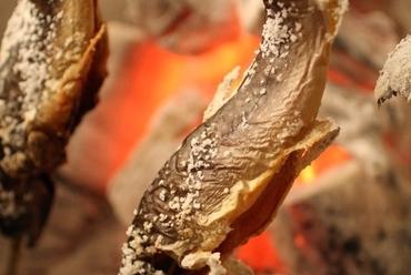 新潟県南魚沼産 岩魚の天然塩焼き