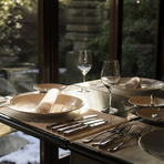 和の趣を楽しめる空間は、外国人の方をおもてなしする席にも最適