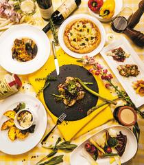 食事のボリュームも質も楽しみたいならこちらのコース★シェフおすすめパスタが入ったお得なコースです!