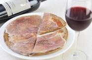 ワインが欲しくなる『生ハムのピッツァ』