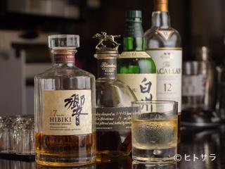 アルコールメニューも豊富なラインナップを誇ります