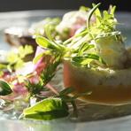鱈と安納芋のマンテカート