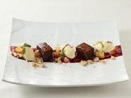 フランス産クーベルチュールを使った濃厚さが魅力『ガトーショコラとマスカルポーネと白味噌のジェラート』