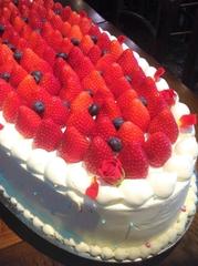 シェフ手作り特大ケーキ