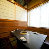 完全個室空間はさまざまなシーンに。大切なお食事シーンにも最適