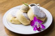 至福のナチュラルパンケーキ(オリジナルホイップバター付)2枚/3枚