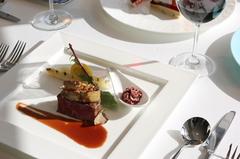 お肉とお魚のどちらも愉しめるシェフおすすめの豪華ディナーコース