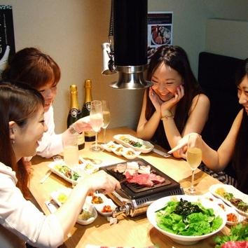 お得なマルウシミートコース 飲み放題付 5000円(税別)