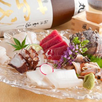 ●親方おまかせ料理7品と飲み放題コース (税込)