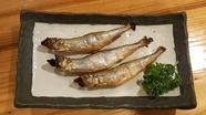 釧路産の『本ししゃも』は炙って香ばしさを楽しんで!