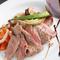甘みとうま味が堪能できる『A4神戸牛のサーロインステーキ』(要予約)