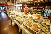 イタリアンを中心に、地元素材をふんだんに使ったメニューばかりです。特に野菜が充実しているのが嬉しいところ。幅広い年代にも対応した和洋メニューが揃っています。