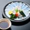 吟味した食材の、新鮮な美味しさがテーブルまで届く