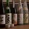 日本酒は、全国各地々から料理に良く合う味をご用意