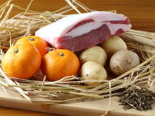 メイン食材と、それを育んだ環境にもこだわって食材をセレクト