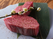 牛肉の味わいを濃厚に楽しめる『シャトーブリアン』