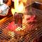 備長炭で焼き上げる、上質な肉