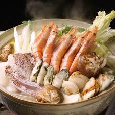 海鮮鍋 水炊きor醤油