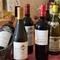 フランス料理に合う世界各国のワインが、約80種類