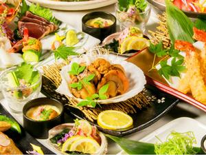 贅沢食材をご堪能…自慢の特製鍋付宴会コース2500円より!