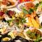 プレミアムコース! 料理長こだわりの極上の贅沢海鮮尽くし創作美食全9品+特別飲み放題でご宴会。