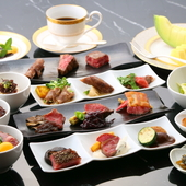 極上のお肉を15種類の味わいで楽しめる『徳川コース』