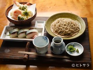 納豆もちそば 京蕪庵の料理・店内の画像1