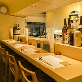 試飲して美味しく料理に合う日本酒、焼酎やビールにもこだわりが