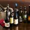 その日限定のボトルにも出会える、料理に合わせ多種多様なワイン