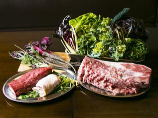 地産地消を大切にした「倭鴨」や奈良の旬野菜