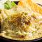 居酒屋の定番ポテトサラダをこんがり焼いた『鉄板でポテサラ』