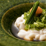 北海道産 鱈白子ぽん酢