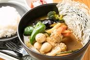 お店自慢のエースメニュー『オリジナルスープカレー』