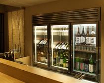 日本酒、ワインを保存するセラー