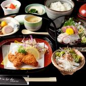 メイン料理はその日の仕入れ次第、ランチでだけ食べられる25食限定の『おまかせ膳』