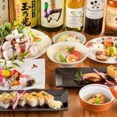 本場大阪で長年腕を振るってきた料理長お手製の、関西料理に舌鼓