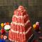 記念日やサプライズに!特製肉ケーキ