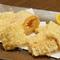 クリーミーな甘さの『白いトウモロコシの天ぷら』