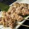 国産豚や鮮度の良い鶏肉を使用した「串メニュー」