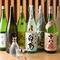 岡山の地酒がずらり。様々な銘酒を楽しめるお店