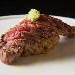 九州厳選牛 和牛肉寿司 二貫