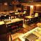 大人数での宴席には貸切も可能、オシャレで高級感ただよう空間