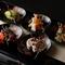 5種類の肴が楽しめる『春の盛り合わせ』