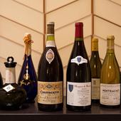 豊富に揃う日本酒とワインが奏でる料理とのマリアージュ