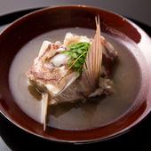 郷土の料理を料亭の味へと昇華させた『鯛の淡々』