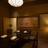 趣の異なる、4つの個室からなる空間がゲストの大切な時間を紡ぐ
