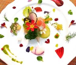 特別なお食事にご用意させていただくシェフお任せのコース。お客様のご要望をお伝えください。