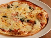 イタリア・サンダニエーレ産の生ハムを使った豪華なピッツァです。